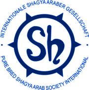 Logo der Internationalen Shagya-Araber Gesellschaft - Verband der Züchter und Freunde des Shagya-Araber weltweit