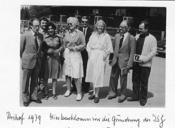 Shagya-Araber Persönlichkeiten 1979 ISG-Gründung Urihof