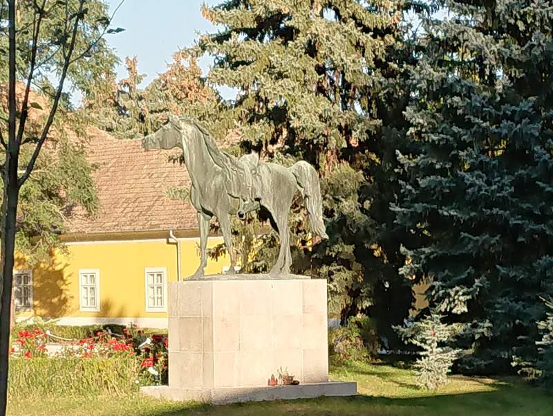 Gestüt Babolna - Statue